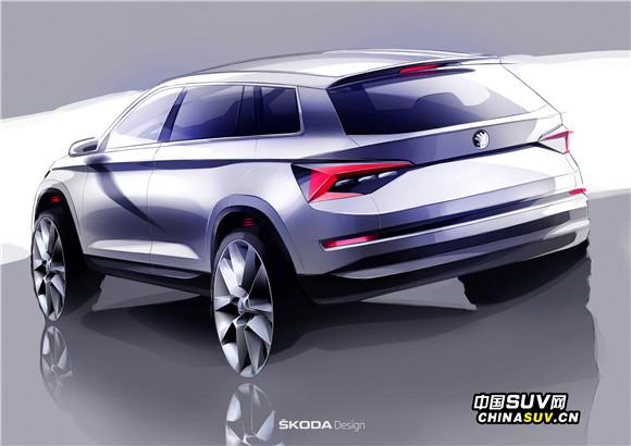 全新斯柯达KODIAQ:轮廓分明的外形和鲜明的三维立体线条,让这款斯柯达全新SUV在众多车型中脱颖而出.jpg