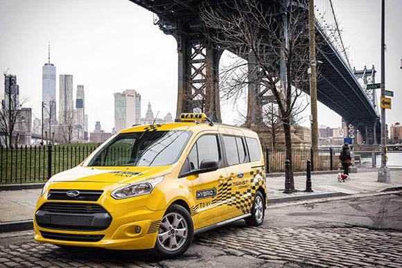 2017福特Transit Custom插电式混合动力出租车原型车2.jpg