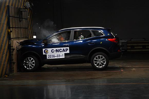 2--东风雷诺科雷嘉在2016年C-NCAP碰撞测试中荣获五星安全评级.jpg