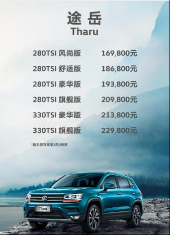 XX萬元-XX萬元 上汽大眾全新SUV Tharu途岳重磅上市169.png