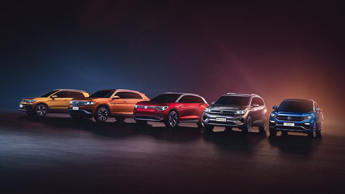 大众汽车品牌揭幕包括4款全球首发车型在内的5款全新SUV.jpg
