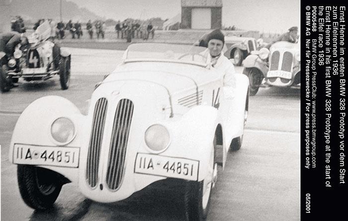 02.1936年Ernst Henne驾驶第一款BMW 328参加赛事.jpg