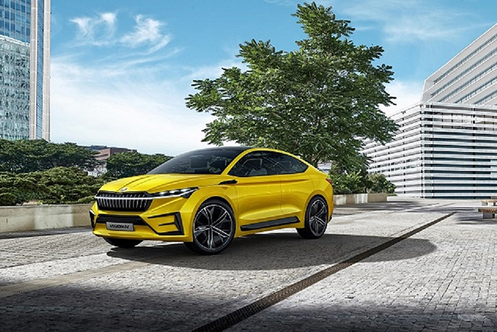 新闻图片2:斯柯达纯电动概念车VISION iV今年先后在日内瓦车展、上海车展亮相,展示了品牌未来电动出行的愿景.jpg