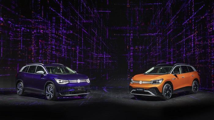 大眾汽車最新ID.家族的成員將以兩個版本亮相:上汽大眾ID.6 X和一汽-大眾ID.6 CROZZ.jpg
